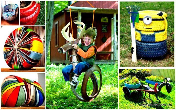 Repurposed Items Upcycling Recycling