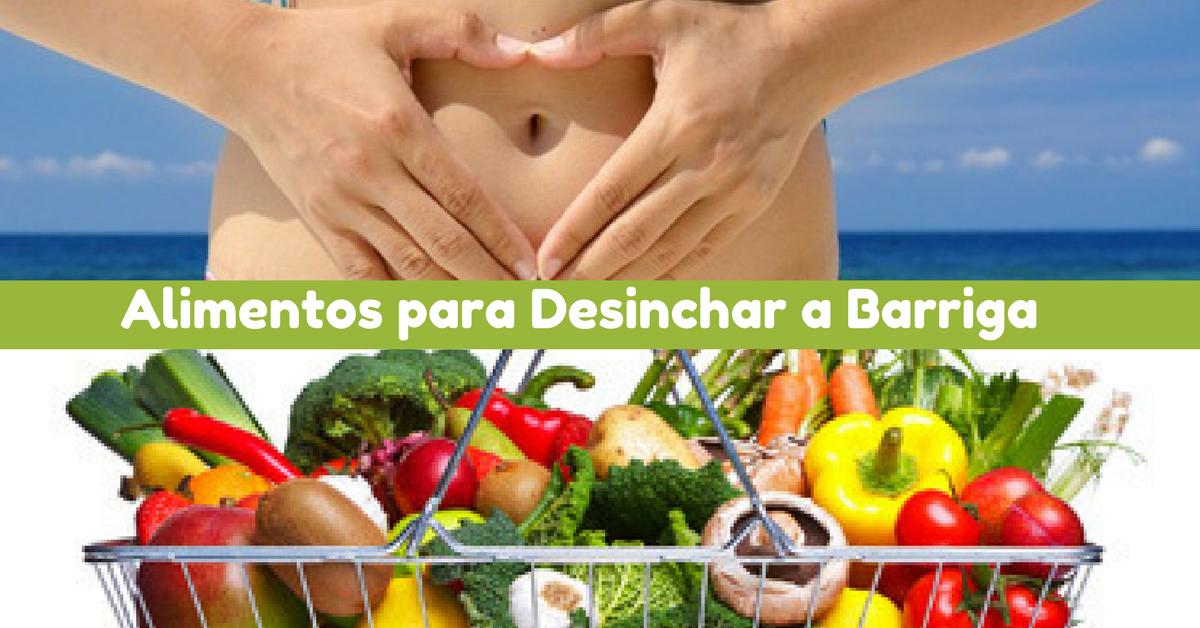 5 alimentos para desinchar o corpo - Alimentos adelgazantes barriga ...