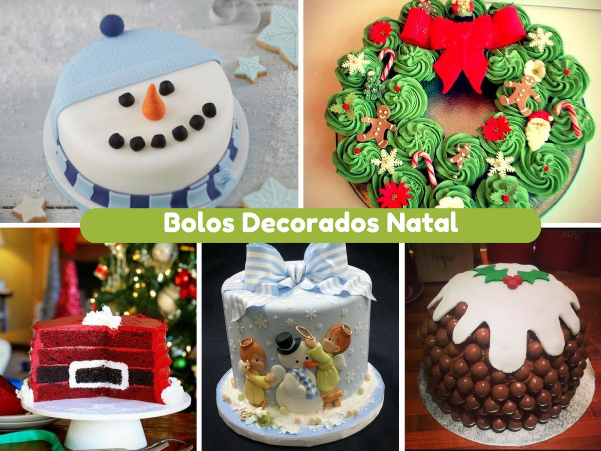 10 bolos decorados de natal mais originais thecheapjerseys Images