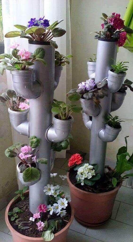 DIY vasos reciclagem 10