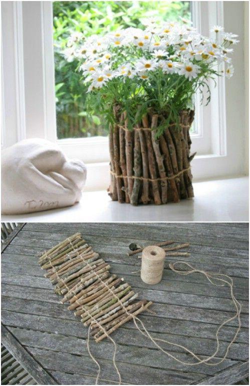 DIY vasos reciclagem 2