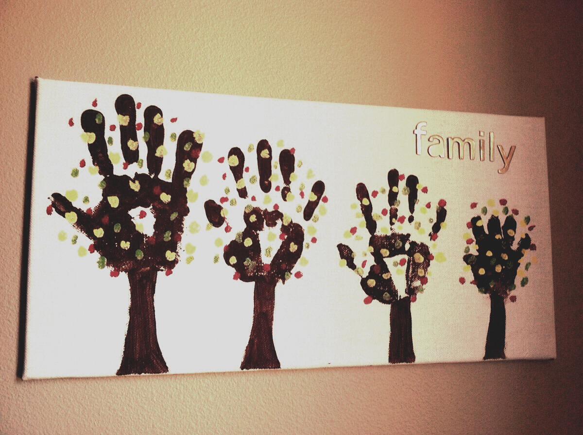 Family-Hand-Print-Trees