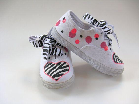 Ideias criativas pintar sapatos criança 1