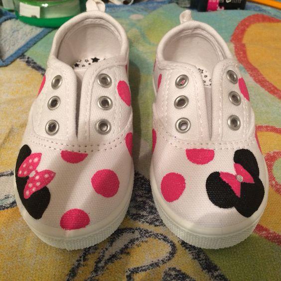 Ideias criativas pintar sapatos criança 5
