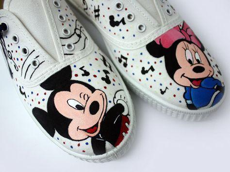 Ideias criativas pintar sapatos criança