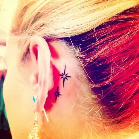 Ideias tatuagem orelha 12