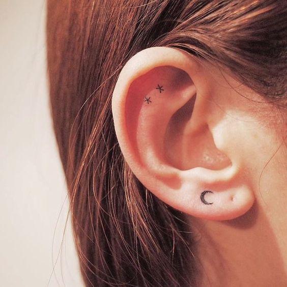 Ideias tatuagem orelha 3