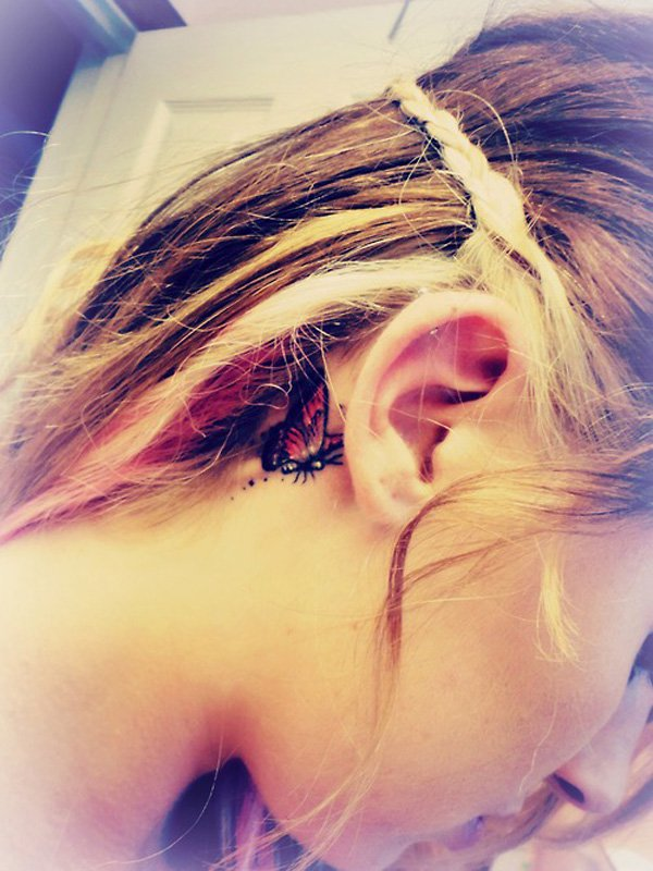 Ideias tatuagem orelha 6