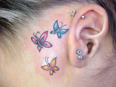 Ideias tatuagem orelha 7