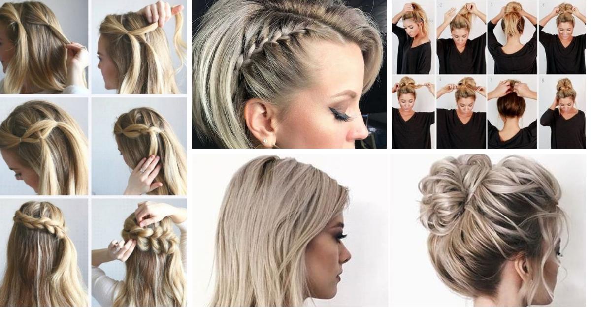20 Penteados Simples Inspirações E Passo A Passo