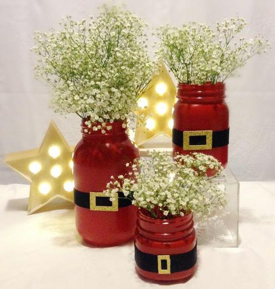 Potes decorados natal 12