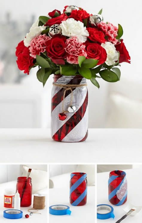 Potes decorados natal 14