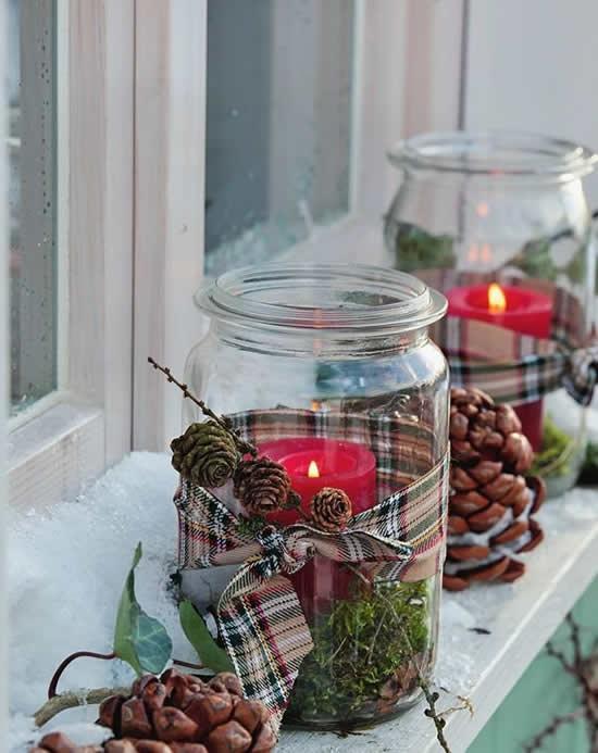 Potes decorados natal 5