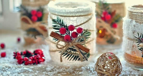 Potes decorados natal 6
