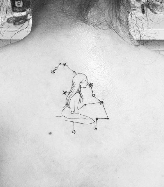 Tatuagens de Signos virgem