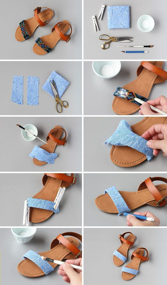 Transformar jeans andálias 1