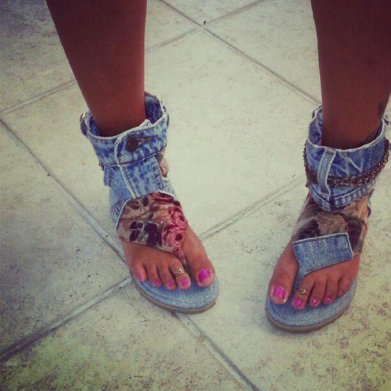 Transformar jeans andálias 10