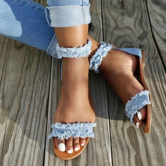 Transformar jeans andálias 2