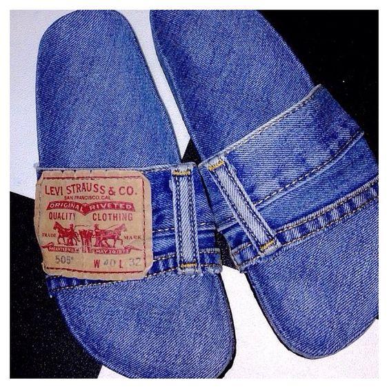 Transformar jeans andálias 7