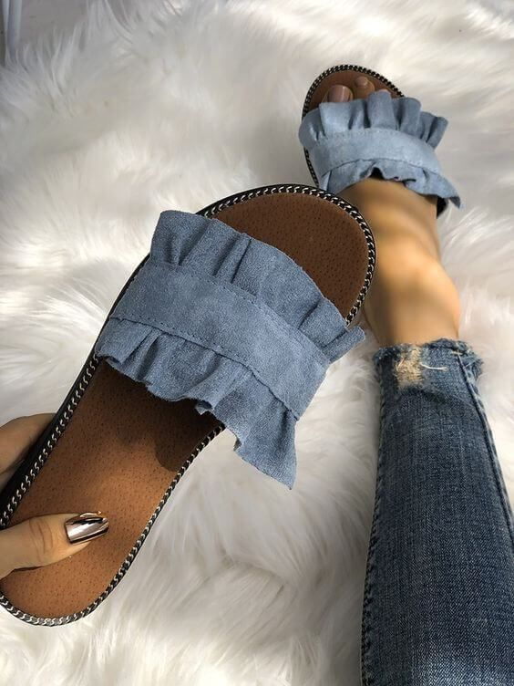 Transformar jeans andálias