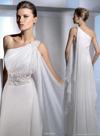 Vestidos Noiva Inspiração Grega 10