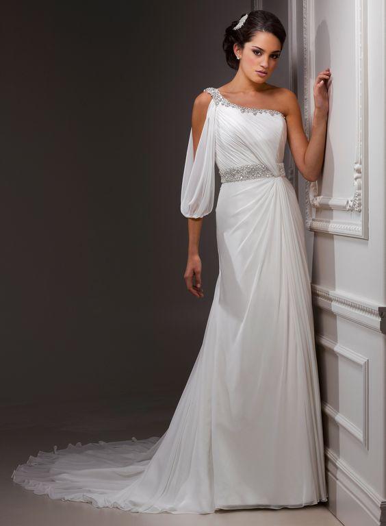 Vestidos Noiva Inspiração Grega 11