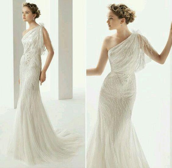 Vestidos Noiva Inspiração Grega 3