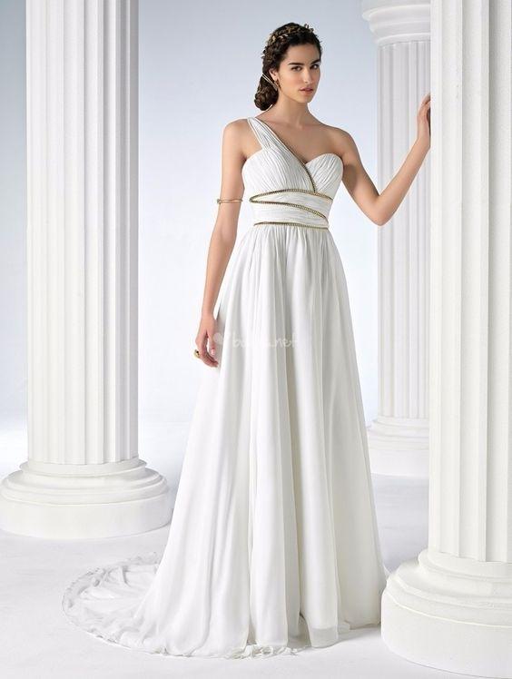 Vestidos Noiva Inspiração Grega 5
