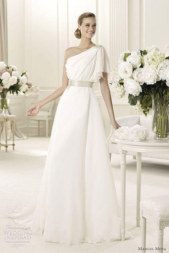 Vestidos Noiva Inspiração Grega 6