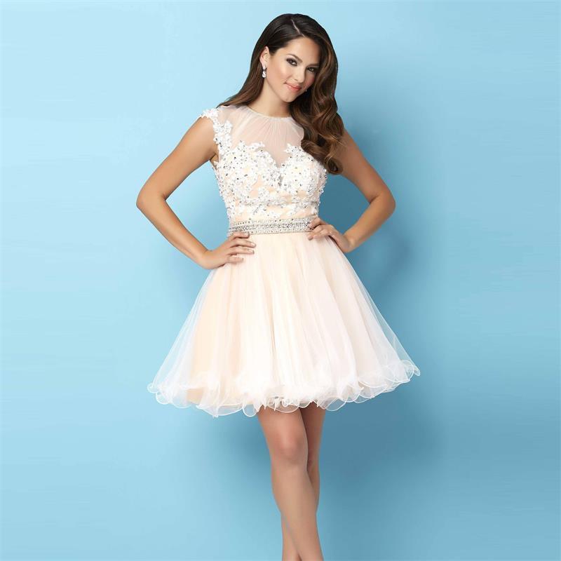 Vestidos para formatura coloridos branco