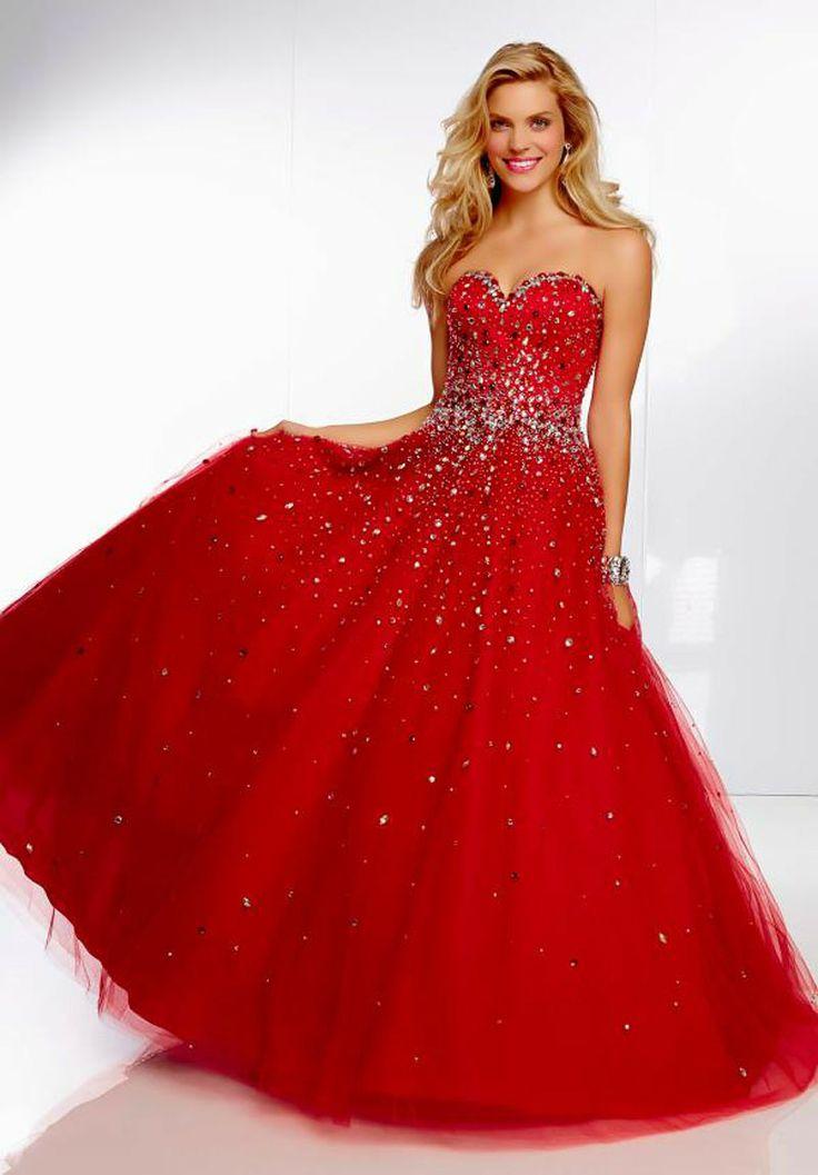 Vestidos para formatura coloridos vermelho