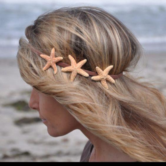 acessorios cabelo conchas mar ideias
