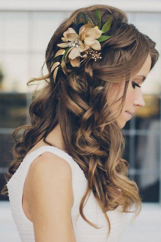 acessorios cabelo noiva flor