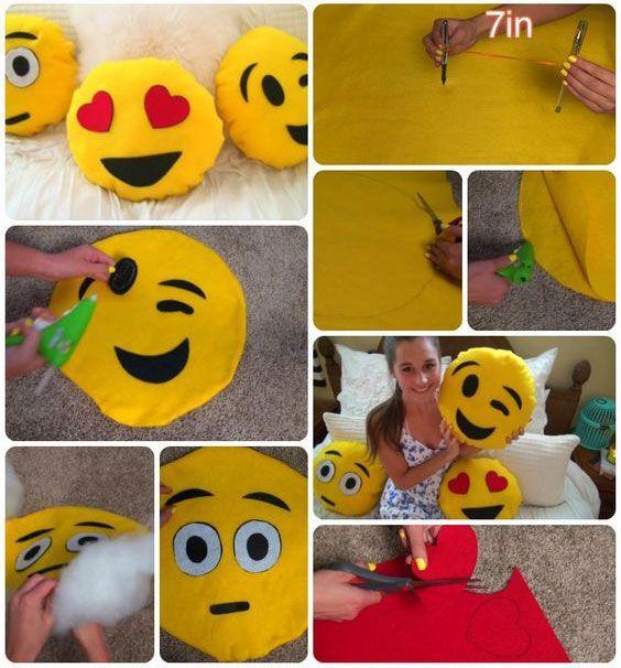 almofada emoji passo passo 5