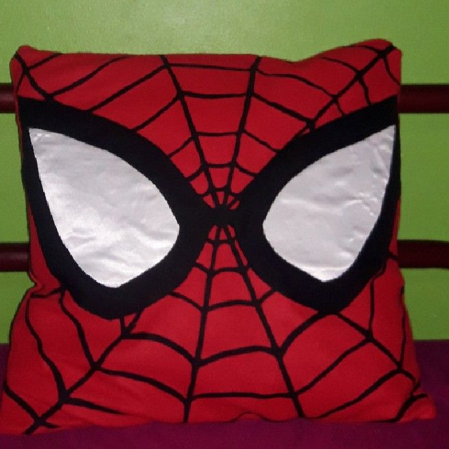 almofada super herois diy ideias 1