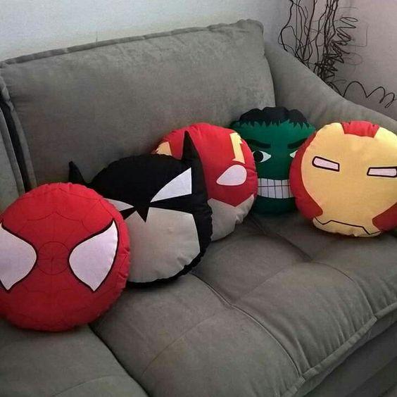 almofada super herois diy ideias 10