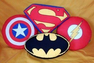 almofada super herois diy ideias 6