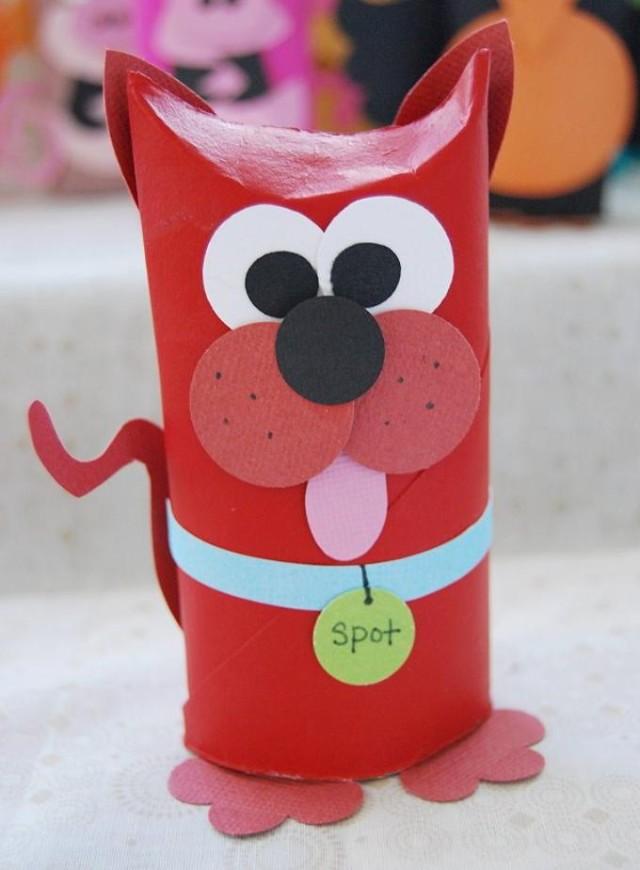 aniamais rolo de papel higienico cao