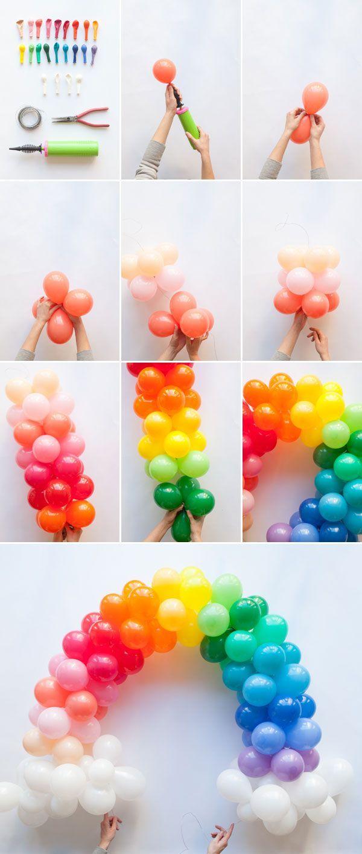 arco de baloes festa