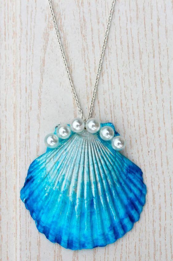 artesanato conchas mar 3