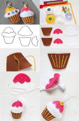 artesanato feltro tutorial 1