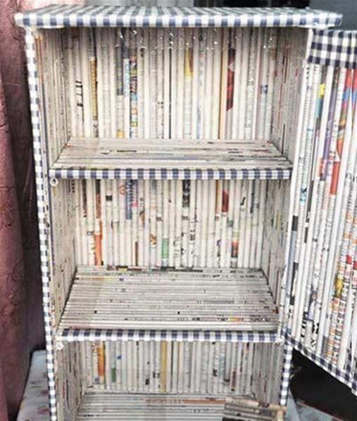 artesanato jornal moveis