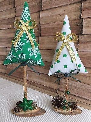 artesanato natal retalho arvore 4