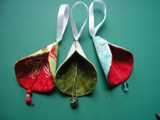 artesanato natal retalho enfeite 2