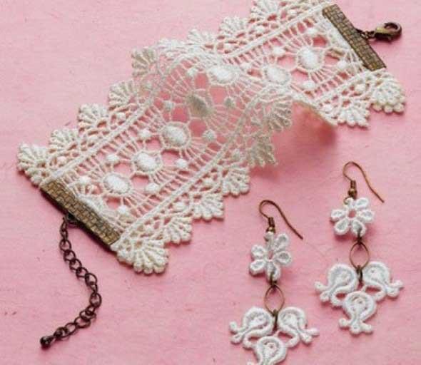 artesanato renda moda