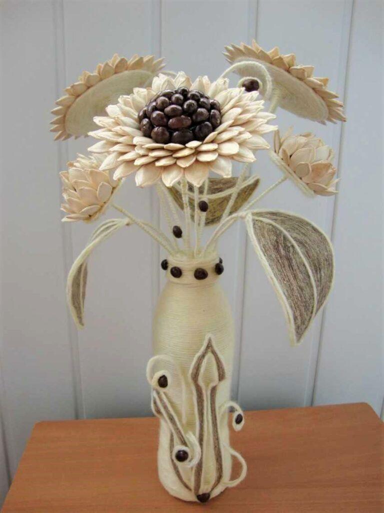 artesanato sementes de abobora