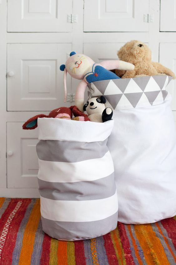 artesanato tecido quarto crianca