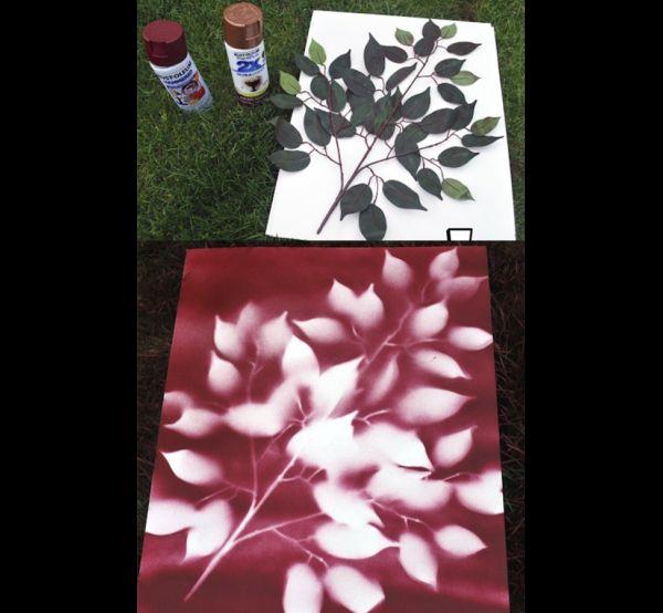 artesanatos tinta spray 1