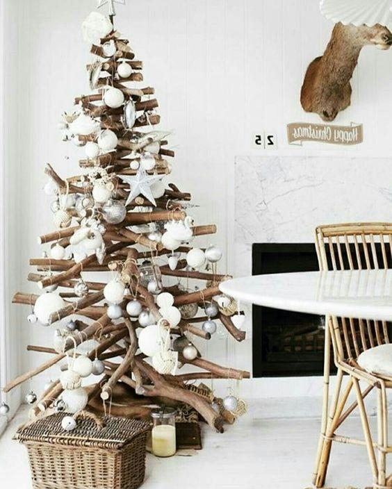 arvore natal madeira diy