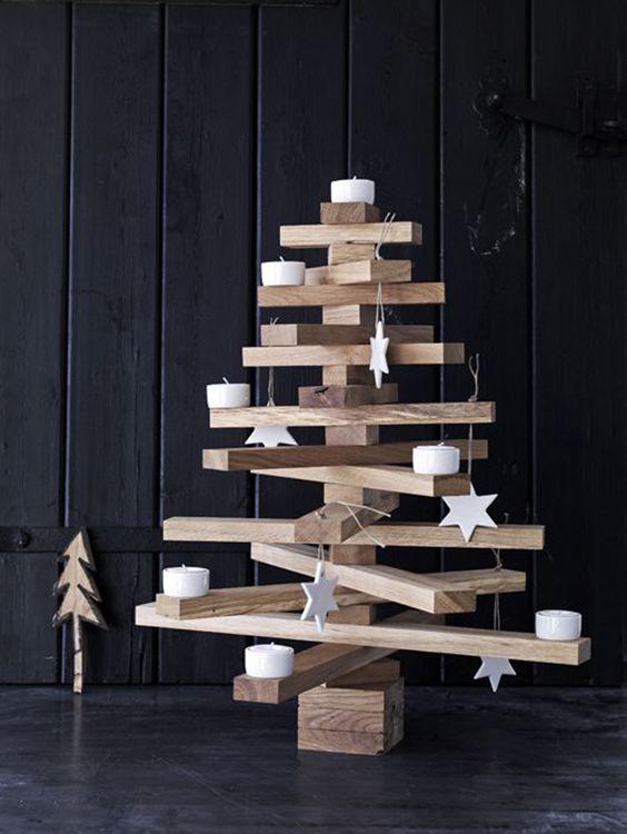 arvore natal madeira facil